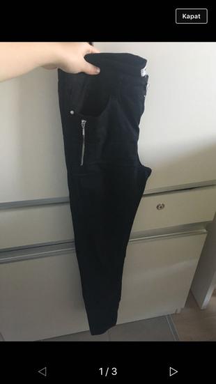 Koton Siyah Pantolon Pantolon