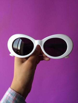 Beyaz Tarz Gözlük Asos