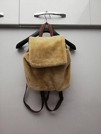peluş sırt çantası
