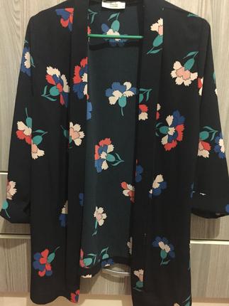 Çiçekli Ceket Blazer