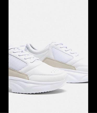 Zara Zara Beyaz spor ayakkabı