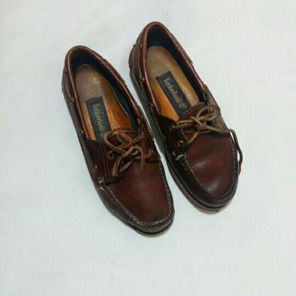 36 numara timberland marka deri ayakkabı