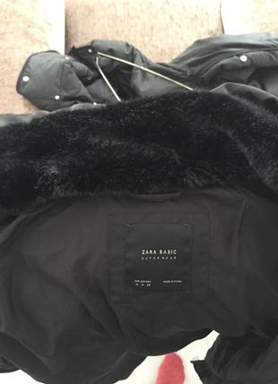 m Beden siyah Renk Zara kaban