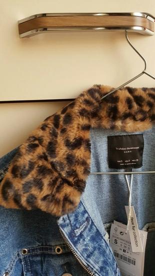 Zara kot ceket kürk