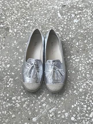 Yaya Hotiç 39 numara uzay grisi yazlık ayakkabı