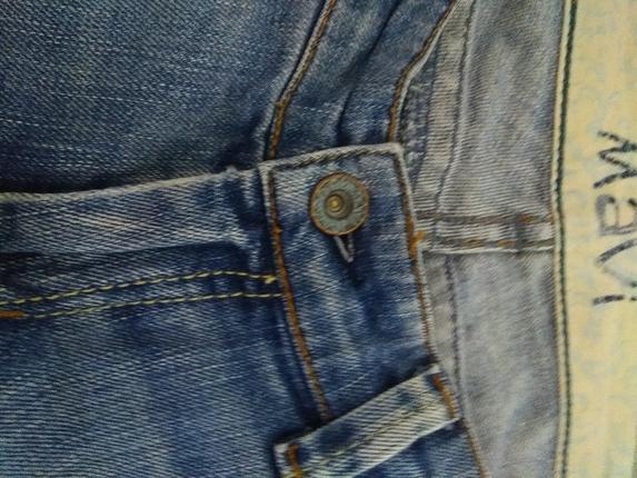 30 Beden mavi jeans pantolon