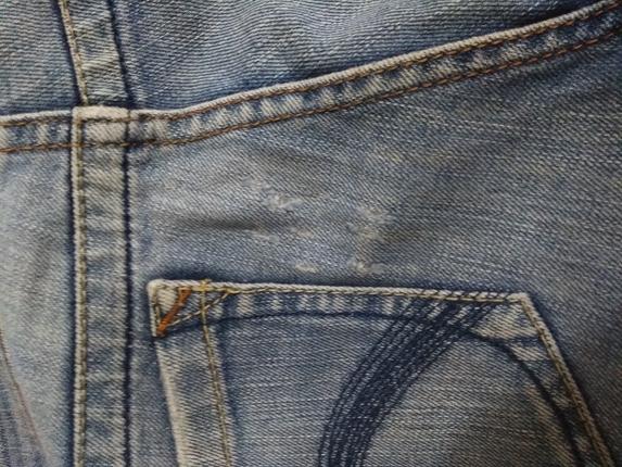 30 Beden mavi Renk mavi jeans pantolon