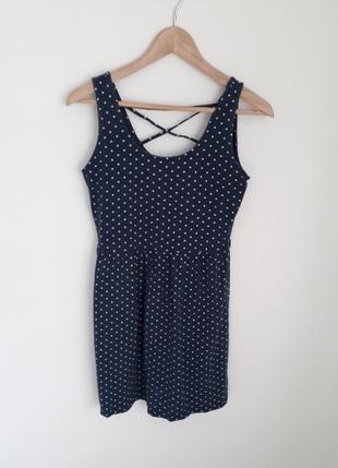 Puantiyeli Elbise Elbise
