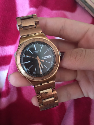 Swatch Rose Gold Saat Swatch