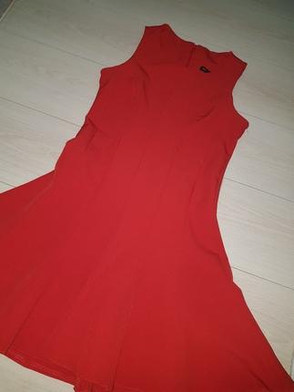 Kırmızı Elbise Kısa elbise