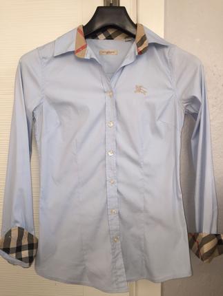Burrbery orjinal mavi gömlek