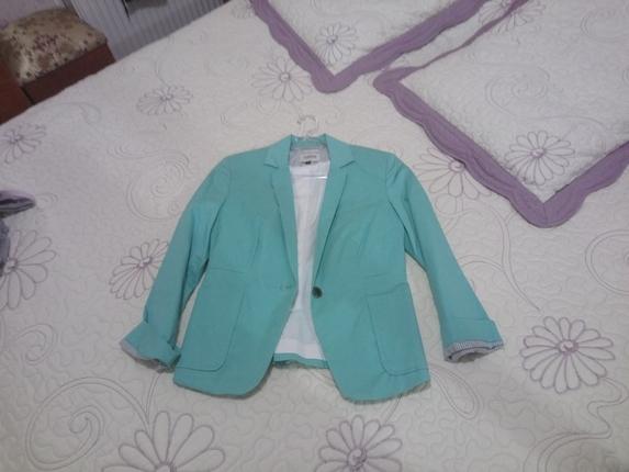 mint yeşili ceket