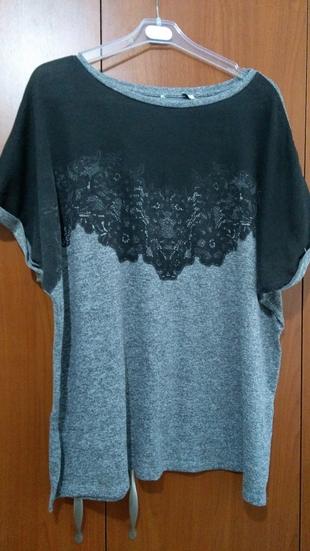 Büyük Beden Şık Tişört T-shirt