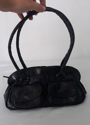 Siyah Vintage Çanta