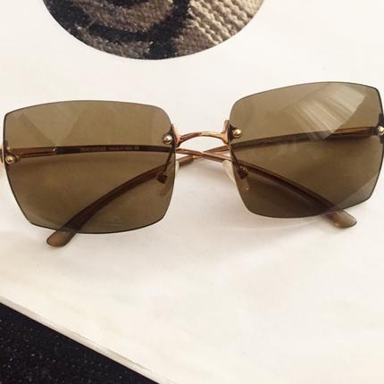 Vintage Fendi Bronz Gözlük Fendi