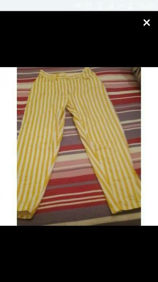 Çizgili Pantolon Markasız Ürün