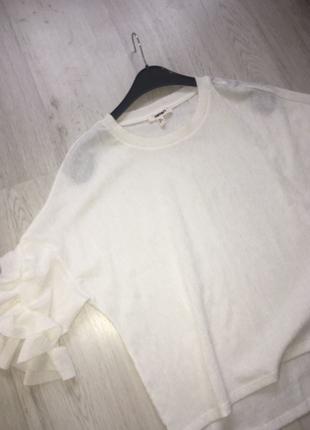 71dd5f9f2012a Beyaz Bluz Koton Bluz %50 İndirimli - Gardrops