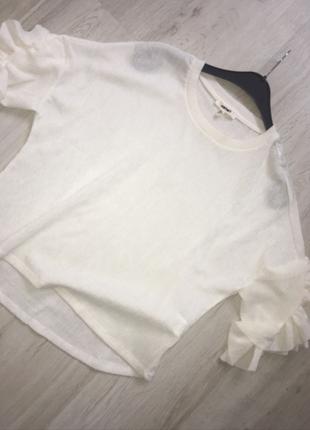 e33804ebcd0ec Koton Beyaz bluz. l Beden Beyaz bluz. l Beden beyaz Renk Beyaz bluz