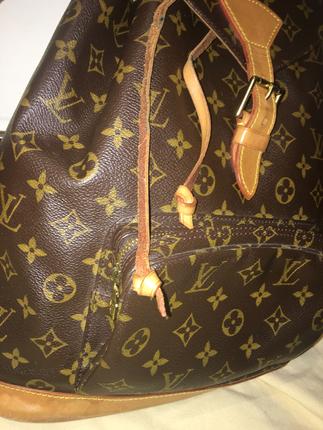 Orjinal Buyuk Boy Louis Vuitton Sirt Cantasi Louis Vuitton Sırt