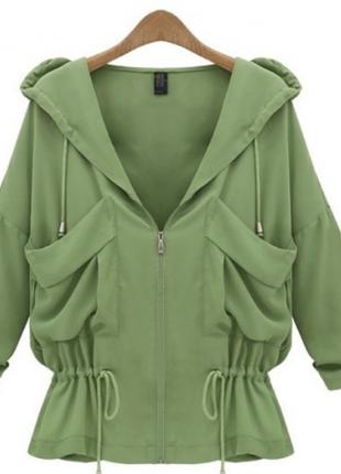 Haki Yeşili ceket bluz