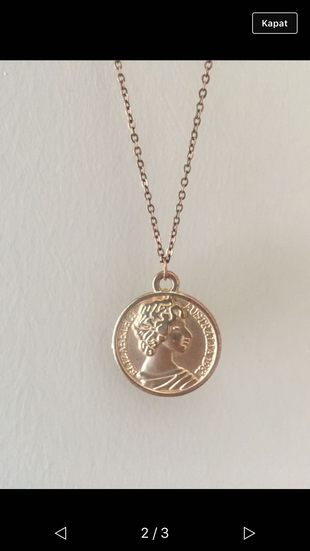 Madalyon kolye