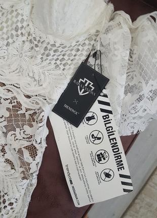 34 Beden beyaz Renk Raisa Vanessa