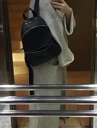 diğer Beden siyah Renk Mango sırt çantası