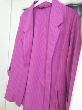 Diğer cizgili ceket