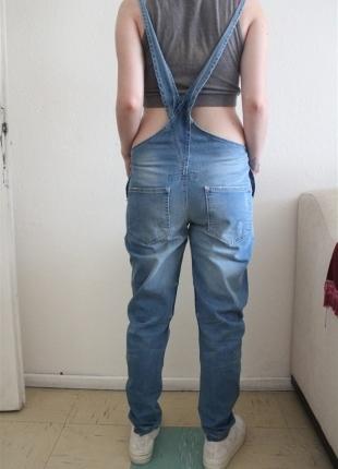 F & F askılı pantolon