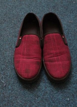 bordo bez ayakkabı