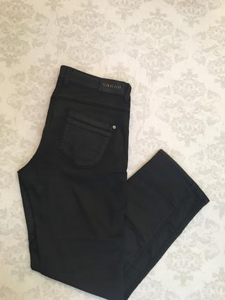 Likralı dar paça pantolon
