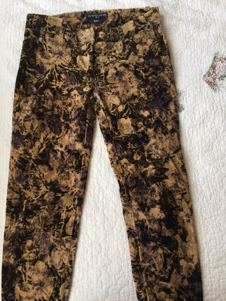 Mudo Kadife Pantalon Pantolon