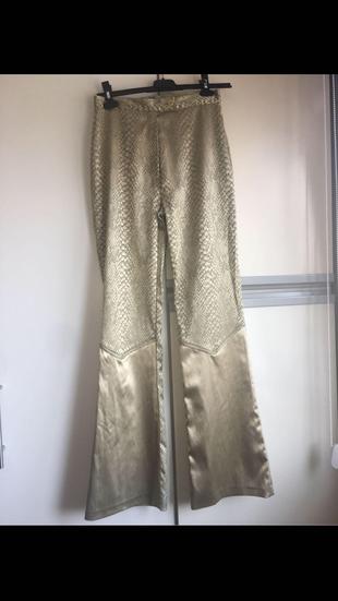 Yılan Deri Pantolon Pantolon
