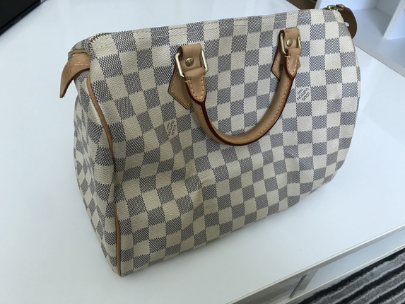 Orjinal Louis Vuitton Speedy çanta 30 Luk Louis Vuitton Tote 75
