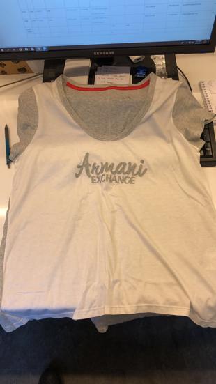 Armani exchange M beden tshirt