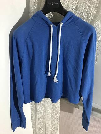 H&m Crop Şeklinde Sweatshirt H&M