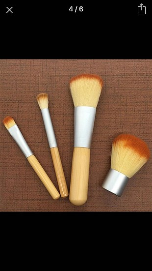 bambu fırça seti