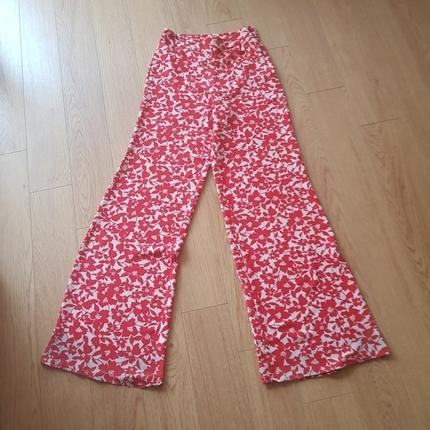 Bol Desenli Yazlik Pantalon Batik
