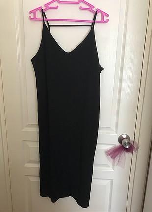 l Beden H&M Uzun Elbise