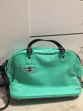 Turkuaz çanta