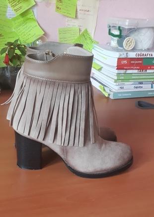toprak rengi ayakkabi