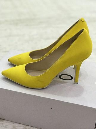 Nine west sarı stiletto