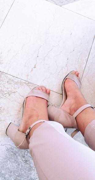 Süet Bant Ayakkabim Ayakkabı