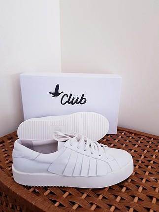 Yeni Beymen Clup gerçek deri sneakers