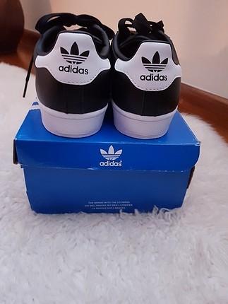 38 Beden siyah Renk Yeni - etiketli Adidas Superstar metal toe sneakers