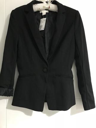 Siyah h&m ceket