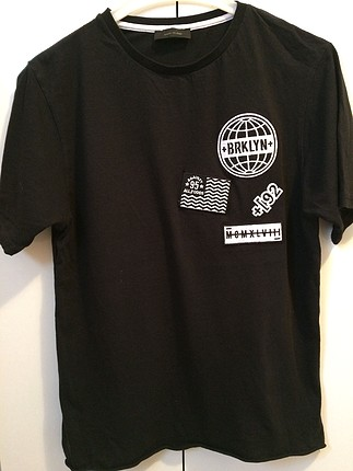 river island siyah tişört