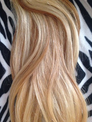 8 parça gerçek çıt çıt saç