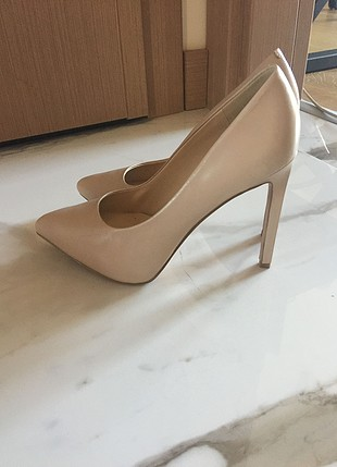 nine west nude stiletto topuklu 8m numara