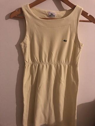 Locoste elbise yazlık kısa klasık model